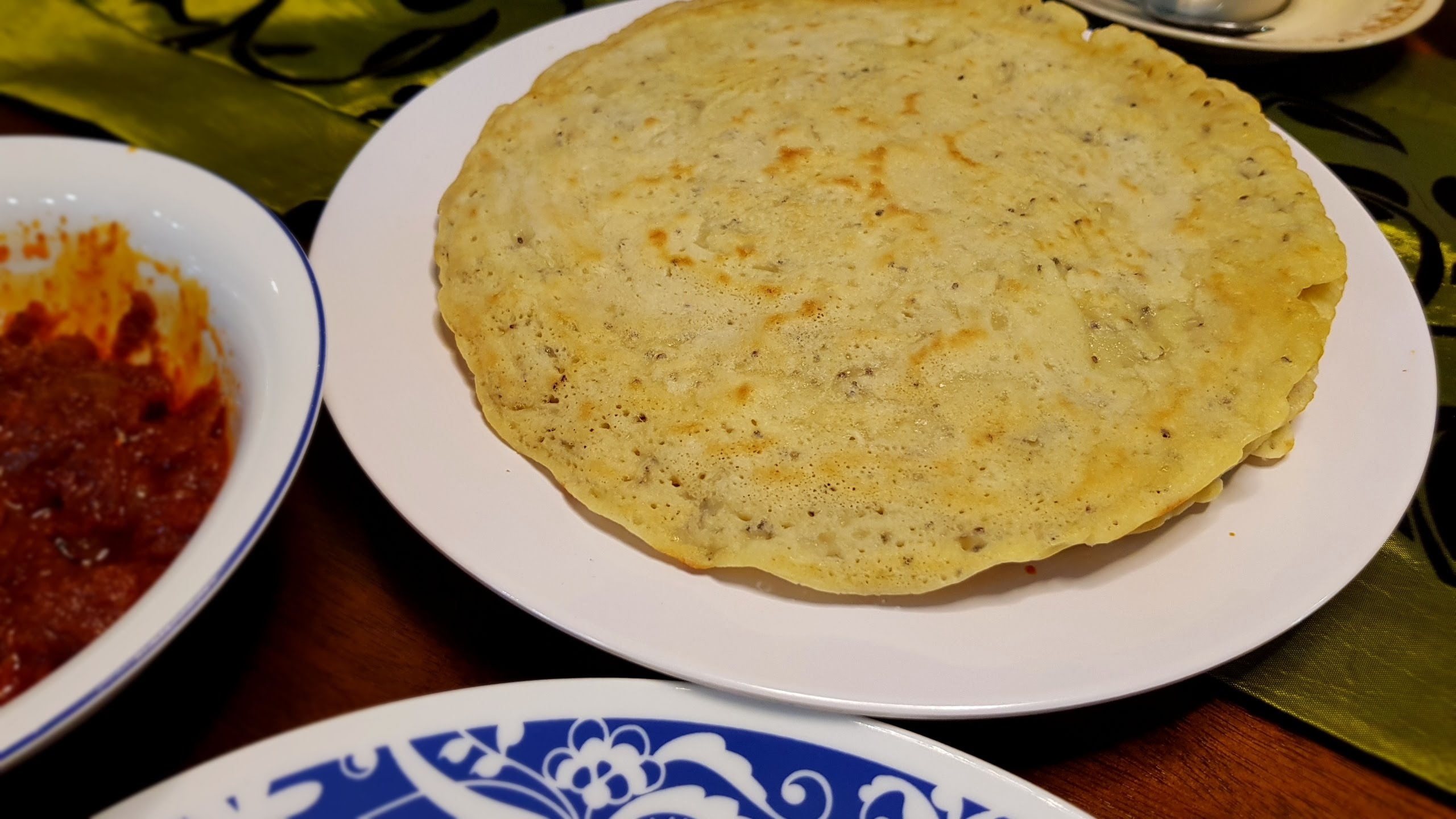 Lempeng Kelapa Chia Seed (Coconut Crepe with Chia Seeds)