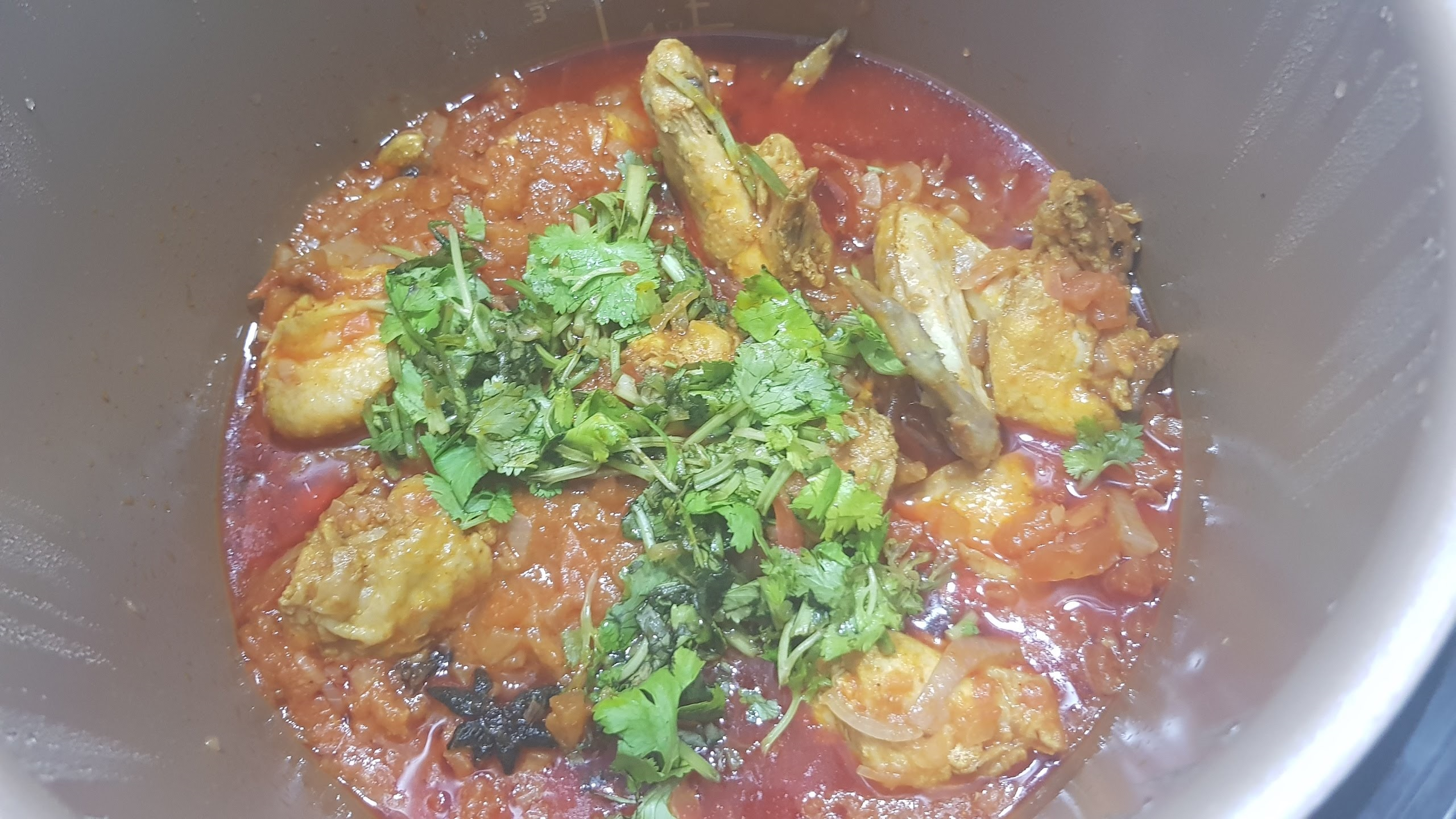 Cooking with Pressure Cooker – Ayam Masak Merah