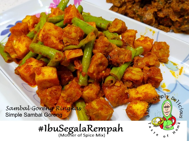 Simple Sambal Goreng