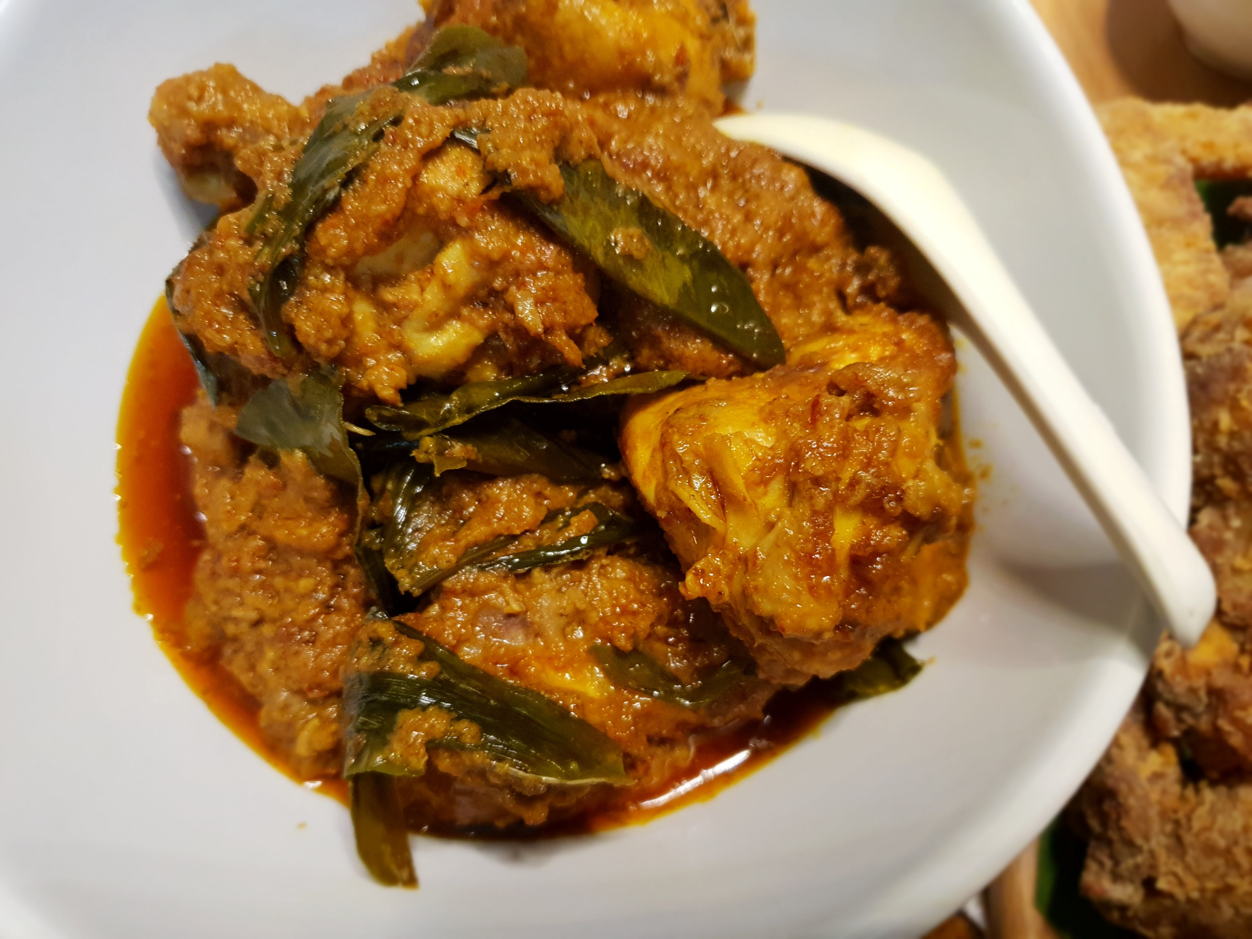 Chicken Rendang (Pressure Cooker)