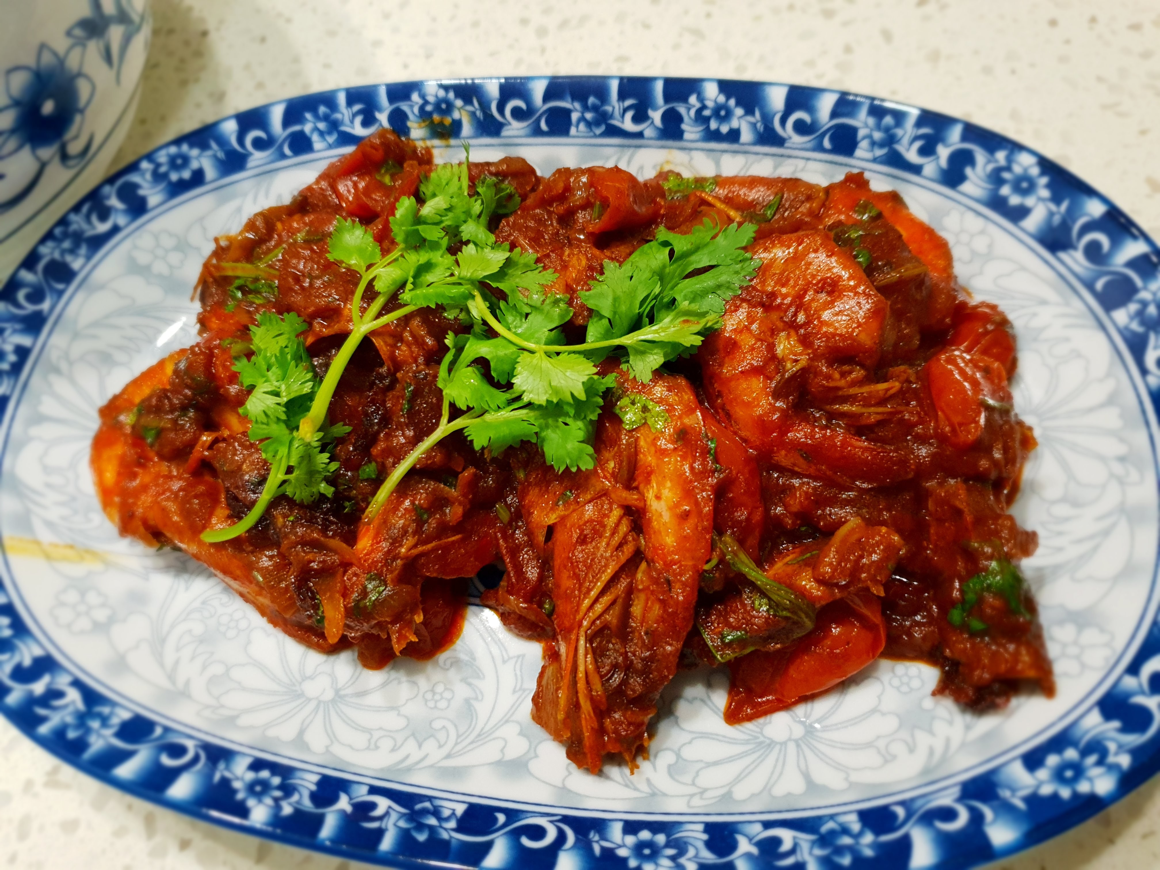 Spiced Tangy Prawn