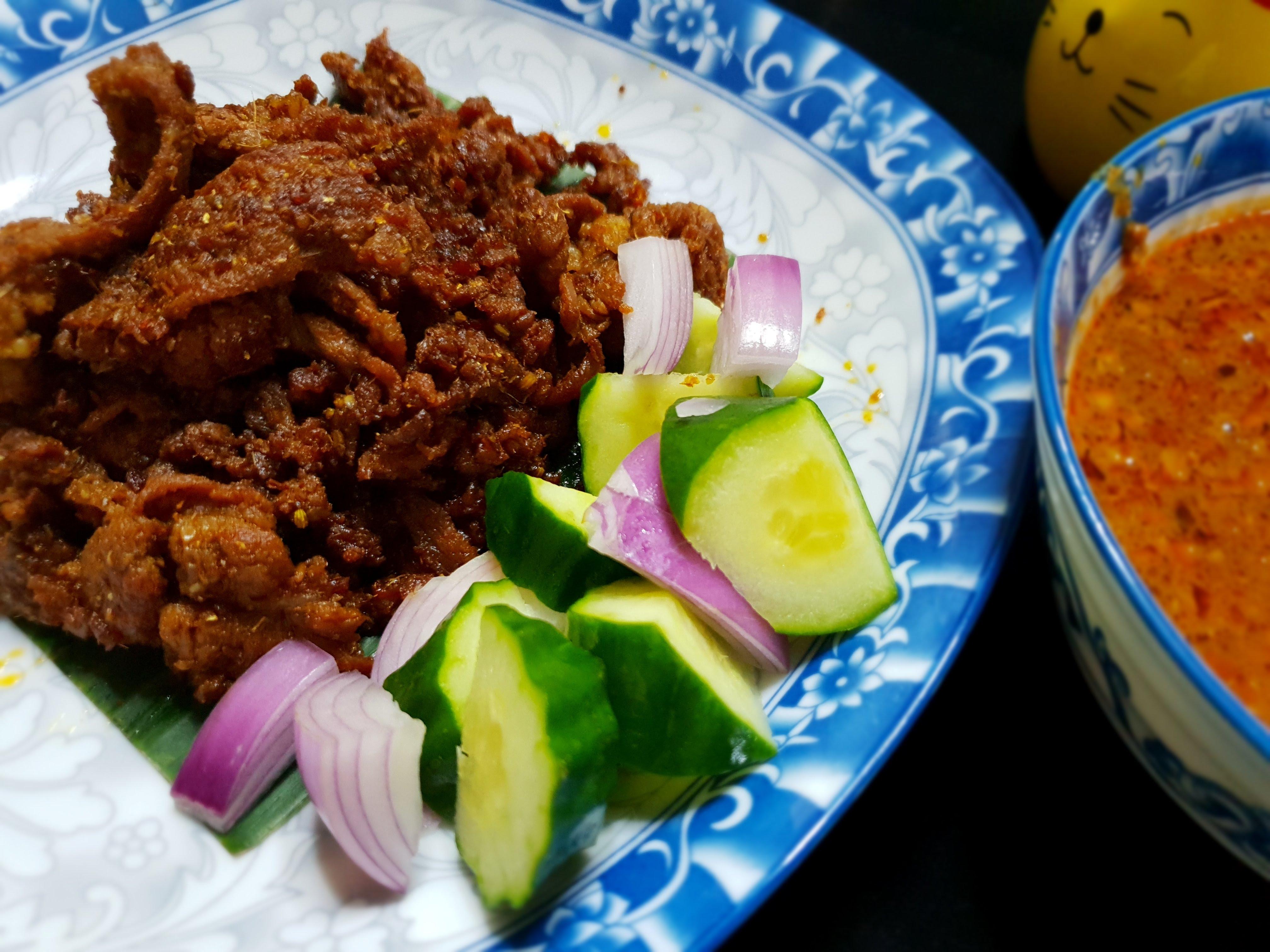 Skewerless Beef Satay