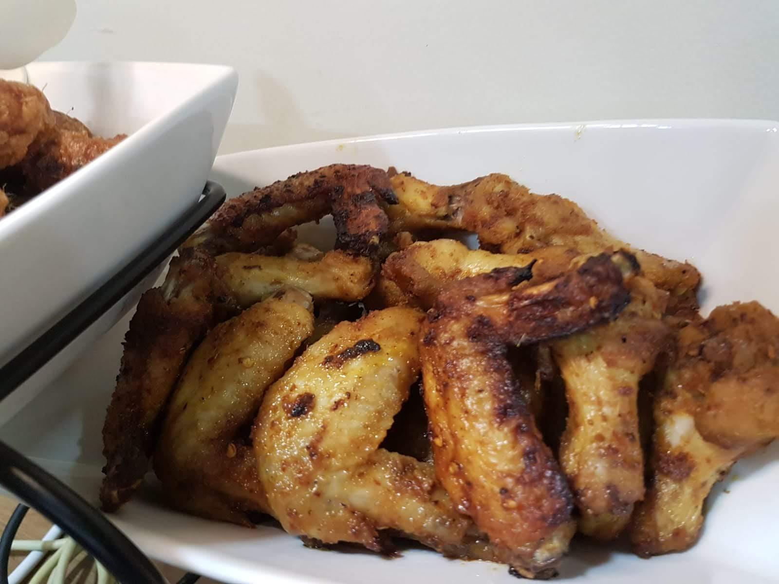 Spicy Belacan (Shrimp Paste) Fried Chicken
